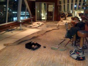 絨毯敷き替え