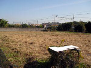 休耕地草刈り
