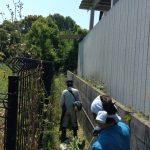 草刈り・溝掃除・不用品処分に行って参りました。-加古川市野口町-