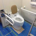 身障者用トイレ施工途中経過④-加古川-