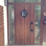 玄関ドアの付け替えを行いました!-神戸市西区-