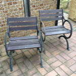 椅子の修理をしてきました。-高砂市北浜町-