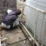 フェンスの修繕に行ってまいりました! -神戸市北区筑紫が丘-