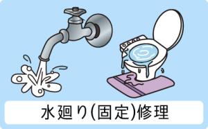 水廻り(固定)修理