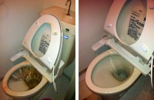 トイレ清掃