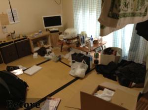 畳の部屋1before