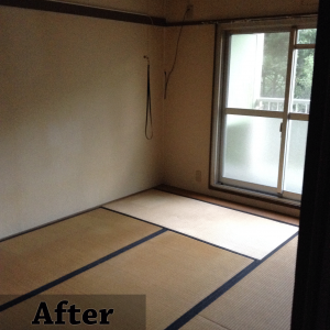 畳の部屋1after